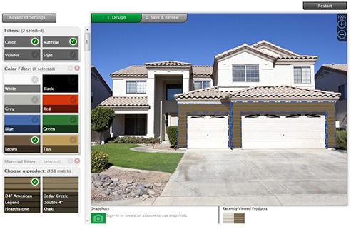 Interactive house siding design home design and style for Interactive house design exterior