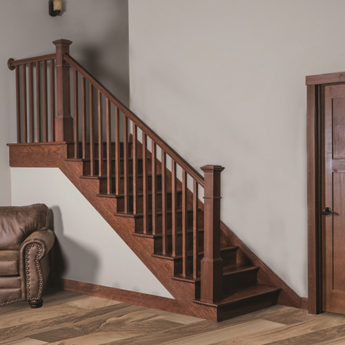 indoor railing kits for stairs railing stairs and.htm millwork staircase systems   accessories at menards    millwork staircase systems