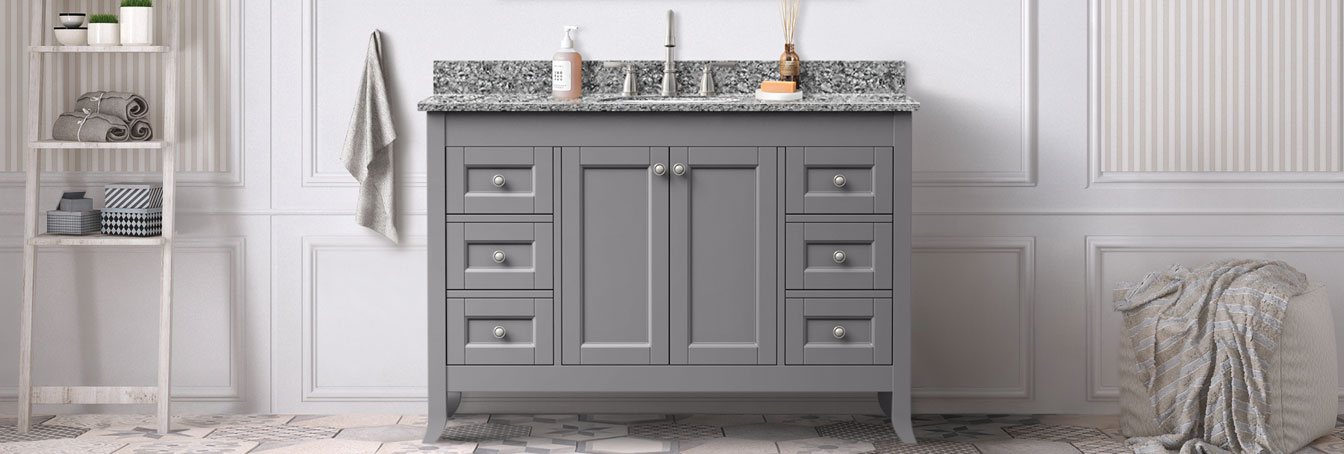 Peachy Bathroom Vanities Tops At Menards Interior Design Ideas Tzicisoteloinfo